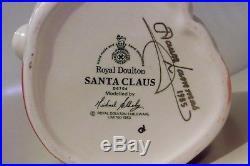 Royal Doulton Santa Claus Toby Jug Mug Pitcher D6704 1983 Signed By Artist Large