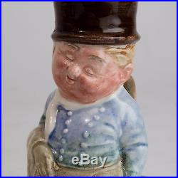Royal Doulton Small Toby Jug Dickens Character'The Fat Boy' Marked'A