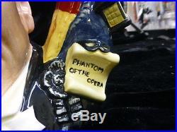 Royal Doulton The Phantom Of The Opera D-7017 Character Jug Limited Edition