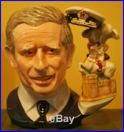 Royal Doulton Toby Character Jug withBox Prince Charles D7283