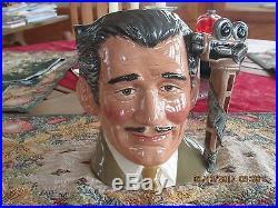 Royal Doulton Toby Jug Clark Gable #d6709