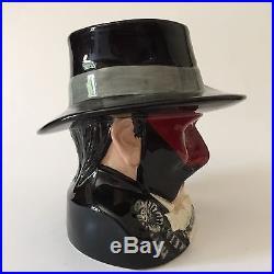 Royal Doulton Toby Jug Phantom Of The Opera D7017 Large Character LE 712/2500