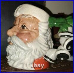 Royal Doulton Toby Jug Santa Bells Handle Small Mug D6964 LIMITED EDITION