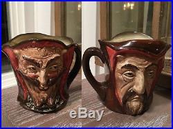 Royal Doulton Toby Jug porcelain Faust 1940 Mephistopheles no verse #13 devil
