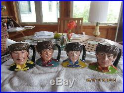 Royal Doulton Toby Jugs The Beatles