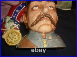 Royal Doulton Two Sided Large CIVIL War Character/toby Jug- Rare