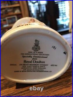 Royal Doulton Two Uncle Sam Liquor Jugs