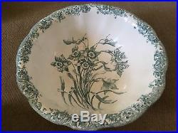 Royal Doulton Victorian Jug And Bowl Daffodils