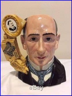 Royal Doulton Wilbur Wright D7179 Limited Edition #10 Of 1000 Character Toby Jug