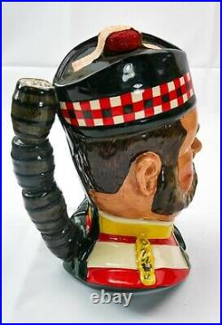 Royal Doulton'William Grant' Style 1 Liquor Container Character Jug Ltd Edition