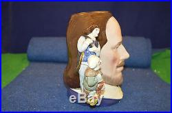 Royal Doulton''William Shakespeare'' Two Handed Large Toby Jug USC RD5972