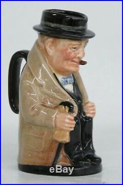 Royal Doulton Winston Churchill English Small Toby Jug Character Mug 1534B