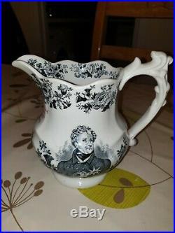 Royal Doulton king George IV whiskey jug (Rare)