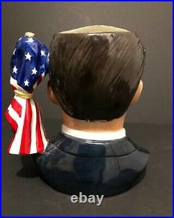 Royal Doulton'ronald Reagan' D6718 1984 Large Character Jug #1971/5000 Rare