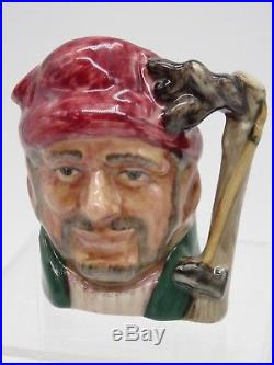 Royal doulton miniature lumberjack character or toby jug prototype