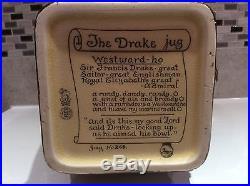 Royal doulton sir Francis drake loving cup jug huge rare war years piece