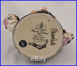 Signed Royal Doulton Charles Dickens Large Character Jug D6939 #286/2500