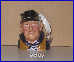 Super Rare Royal Doulton Prototype Bone China Sm. Yachtsman Ch. Jug Mint Cond