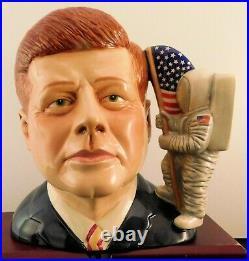 Scarce Royal Doulton Character Jug John F. Kennedy D7246 -Scarce