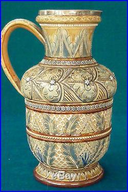 Superb Royal Doulton Lambeth Stoneware Jug