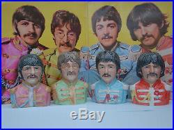 TOBY JUGS. THE BEATLES. SGT PEPPER. FIGURE. LP. CD. VINYL. ABBEY RD. Music. Bust