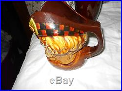The McCallum Royal Doulton Style Wade Toby Jug Mug Large Beautiful Color & Glaze