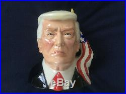 Toby jug. Character jug. DONALD TRUMP. President. Political. Republican