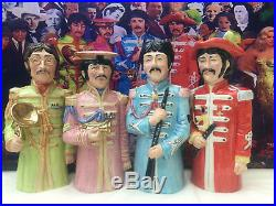 Toby jug. The Beatles. Music. CD. Record. LP. Sgt pepper. Record