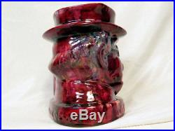 UNIQUE COLORWAY Royal Doulton MR PICKWICK Toby Jug Jim Beam Flambe like colors