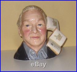 Very Rare Royal Doulton Small Bunnykin Collector Character Jug Excell. Condition