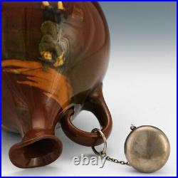VERY RARE Royal Doulton Kingsware Crombie GOLFING Whisky Jug / Bottle / Flask