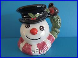 Vintage Royal Doulton'snowman' Sm. Character / Toby Jugs, L/edition, Full Set