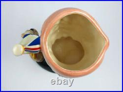 Vintage Large Royal Doulton Toby Character Mug Jug Winston Churchill D6907 RARE