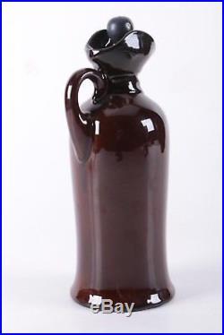 Vintage Royal Doulton Kingsware Night Watchman Dewar's Whisky Flask Jug Flagon