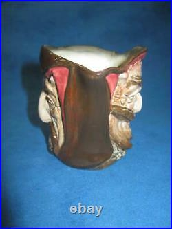 Vintage Royal Doulton Mephistophetes 2-Faces CHARACTER TOBY JUG with Verse. RARE