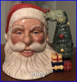 Vintage Royal Doulton Santa Claus Jug Mug David Biggs D7123 7