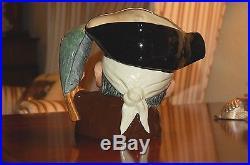 Vintage Royal Doulton Toby Jug Set Long John Silver & Old Salt Mint Collectibles