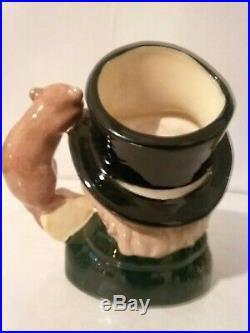 Vtg Royal Doulton Char. Jug Mad Hatter Higbee D6790 Small 3.75 1987 Ltd 500