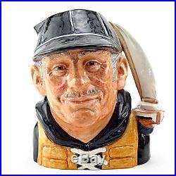Yachtsman Old D6622 Large Royal Doulton Character Jug